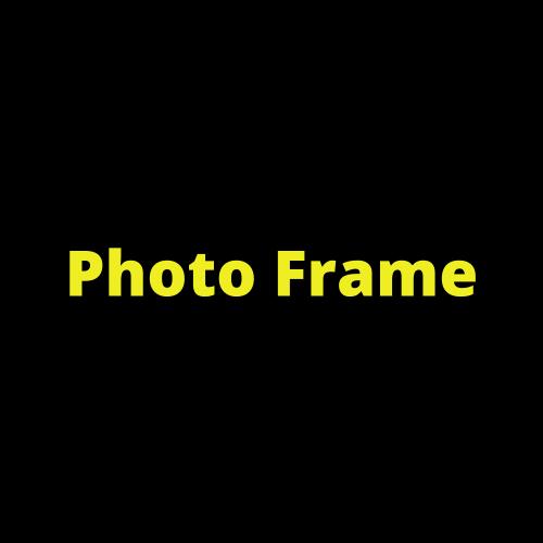 Photo Frame 2 - JD Multi
