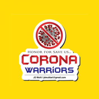 Corona Acrylic Pocket Badge